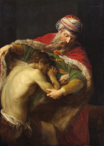 Η επιστροφή του ασώτου, Pompeo Batoni 1773