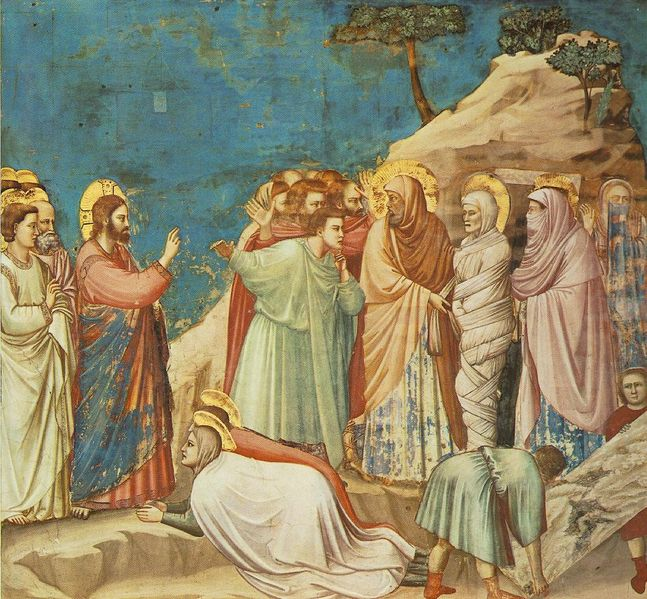 Giotto- Raising Lazarus