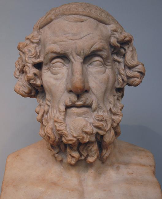 Προτομή του Ομήρου (Βρεταννικό Μουσείο)