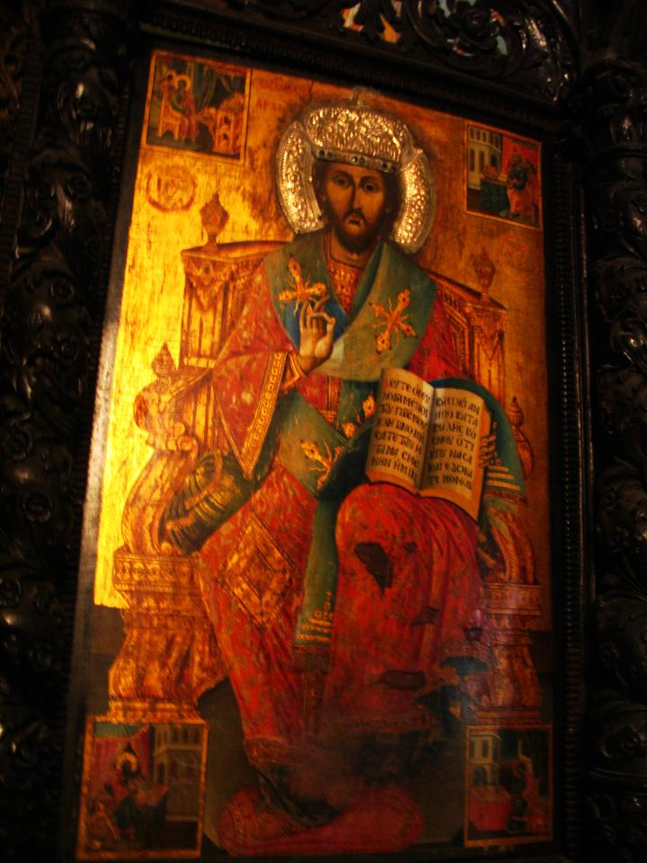 Icon of Christ the Great High-priest, from the Orthodox Church of St. Gabriel in Nazareth