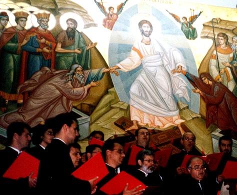 Concertul oficial al Corului Grec Bizantin la Patriarhia Română