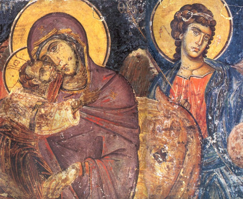 Τοιχογραφία από την ΙΜΜ Βατοπαιδίου