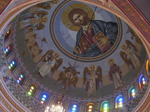 Τρούλλος του ιερού ναού Αγίας Τριάδος στο Charlotte, North Carolina.