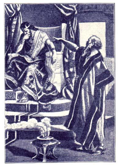 Ο Προφήτης Νάθαν ελέγχει τον Δαβίδ.