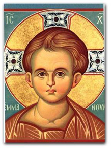 Icon of Christ-child