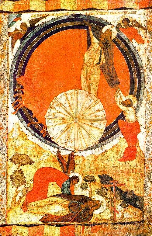 Η ανάληψη του προφήτη Ηλία.