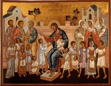 jesus christ blessing the children
