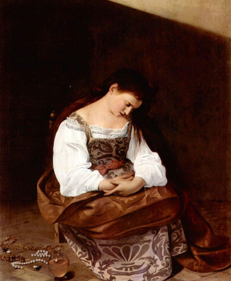 Μαρία Μαγδαληνή. Έργο του Caravaggio.