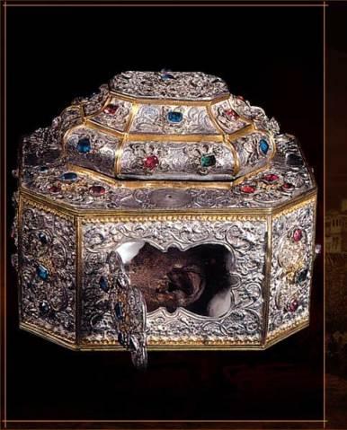 Το αυτί του Αγίου Ιωάννη του Χρυσόστομου. ΙΜΜ Βατοπαιδίου