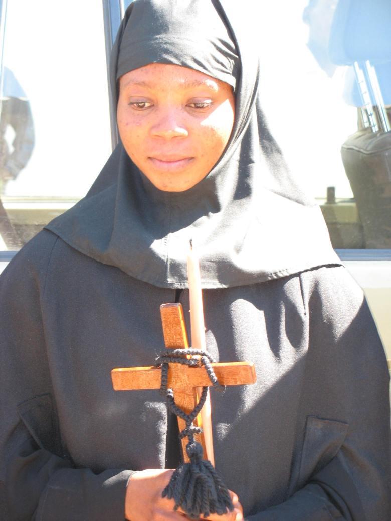 Η Κογκολέζα ορθόδοξη μεγαλόσχημη μοναχή Αγνή