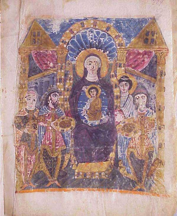 Δεν είναι τυχαίο ότι οι Μάγοι όταν προσέπεσαν να προσκυνήσουν τον Χριστό προσέπεσαν και στην Παναγία που Τον κρατούσε.