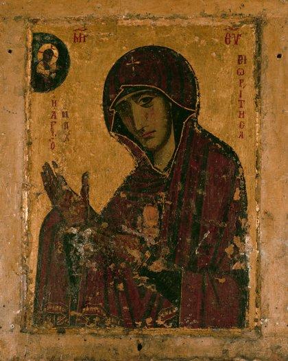Η εφέστιος ιερά εικόνα της Παναγίας της Μαχαιριώτισσας