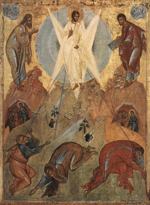transfiguration of the saviour