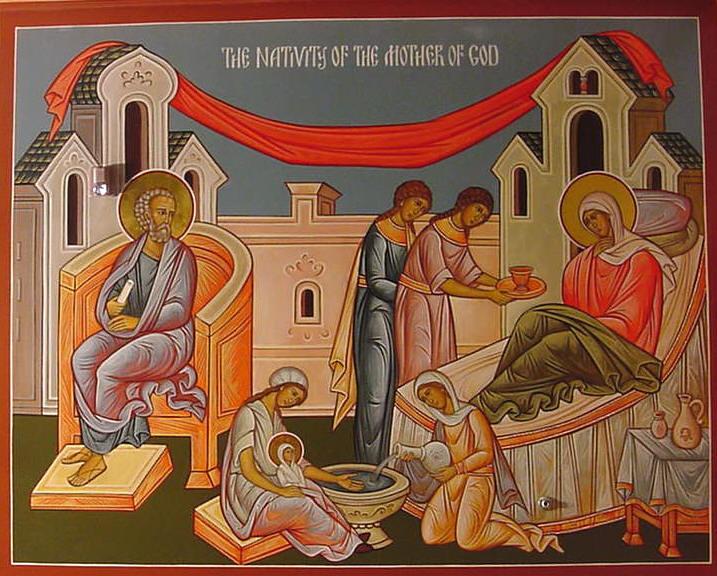 Γεννηση Θεοτοκου