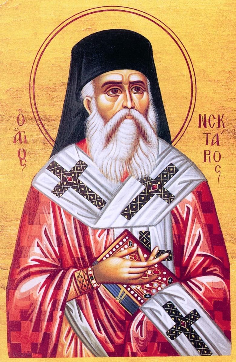 Ο Γέροντας Δανιήλ είχε αλληλογραφία με τον άγιο Νεκτάριο και οί σωζόμενες επιστολές του βρίσκονται στο Ησυχαστήριο των Δανιηλαίων. Ο άγιος Νεκτάριος Πενταπόλεως (έργο της αδελφότητας των Δανιηλαίων).