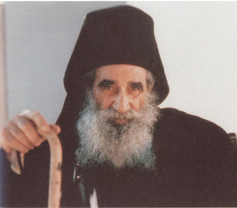 Ο μακάριος Γέρων Αρσένιος ο Σπηλαιώτης (1886-1983), συνασκητής για σαράντα περίπου χρόνια του οσίου Ιωσήφ του Ησυχαστή (1897-1959).