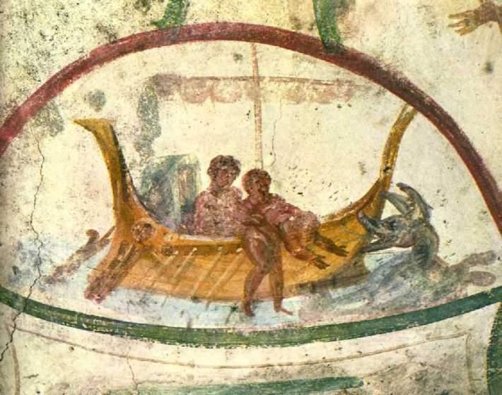 Jonah thrown into the Sea