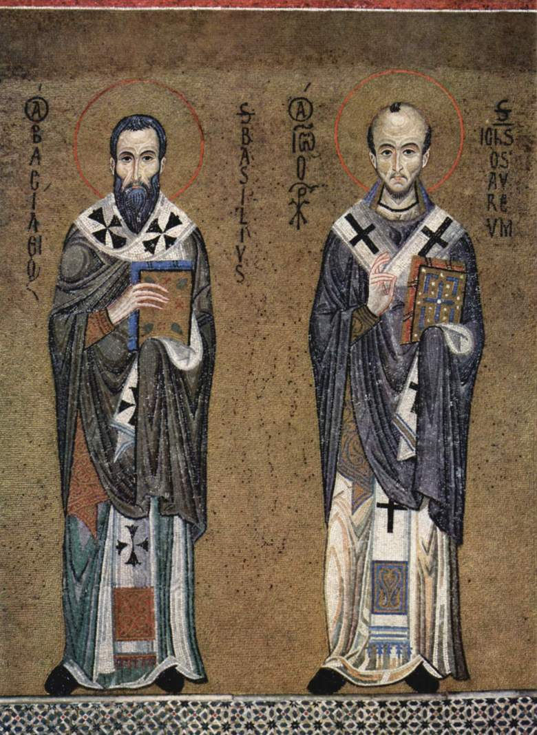 St John Chrysostom and St Basil the Great