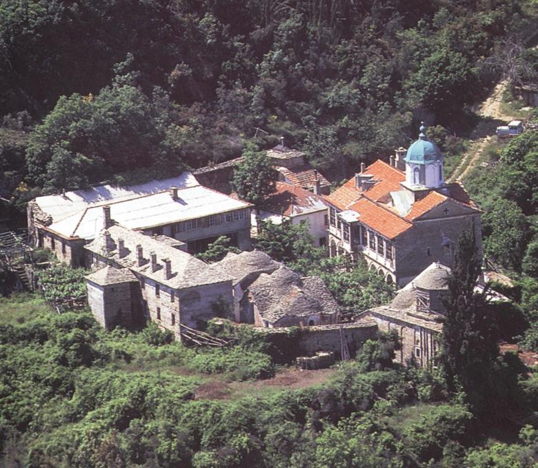 Η Σκήτη του Ξυλουργού ή Βογορόδιτσα. The Skete of Xylourgou (Carpenter) or Bogoroditsa.