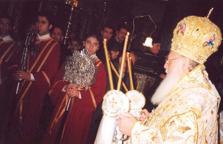 Oikoumenikos Patriarchis (eisodeyon stin Theia Leitourgia)