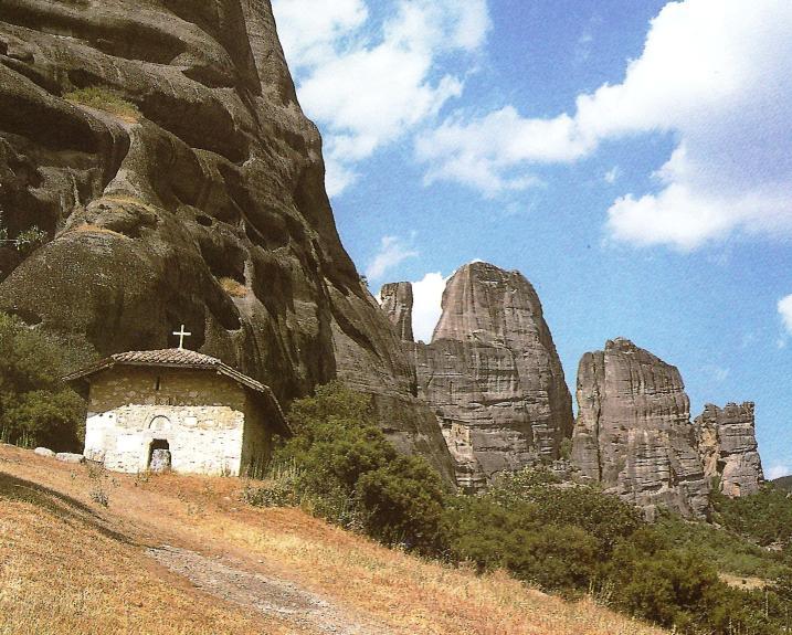 Ο ναός της Παναγίας της Δούπιανης.
