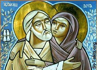 saints joachim and hannah