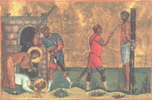 Saints Trophimus, Sabbatius and Dorymedon