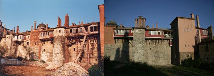 Η Ανατολική Πτέρυγα πριν και μετά την ανακαίνιση