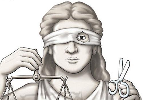 blind justice?