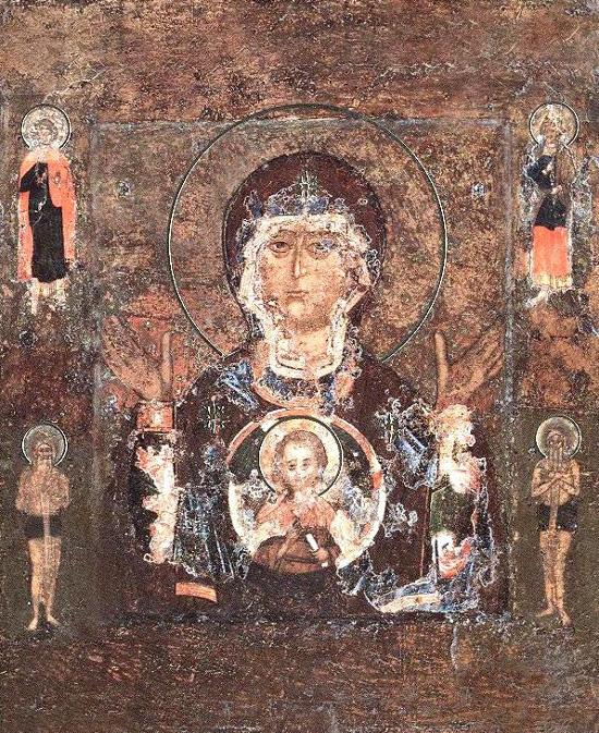 Θαυματουργή Εικόνα Παναγίας «Το σημείο», Ρωσία