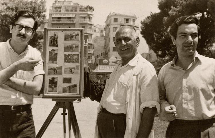 Ο Μάνος Λοΐζος με τον Διονύση Σαββόπουλο
