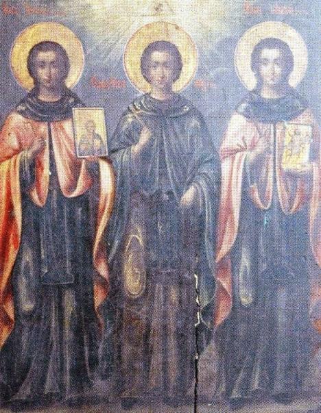 Oi Osiomartyres Iakovos, Iakovos kai Dionysios (+1519)