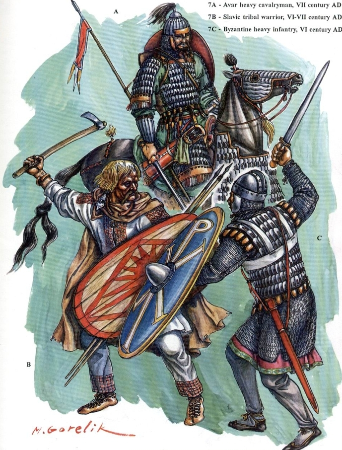 Romans-Slavs-Avars