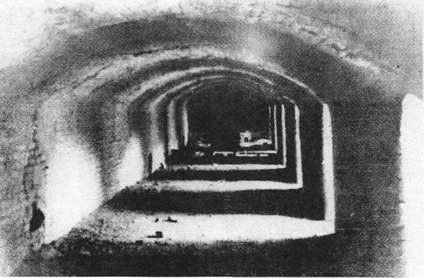 Τα απομεινάρια από τους φούρνους-κρεματόρια του Γιασένοβατς, λίγο πριν από την οριστική τους ισοπέδωση, το 1948 μετά από διαταγή του Τίτο