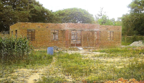 Κτίριο  συγκεντρώσεων και κατηχήσεων στο Ιεραποστολικό Κέντρο Αγίου Γεωργίου.