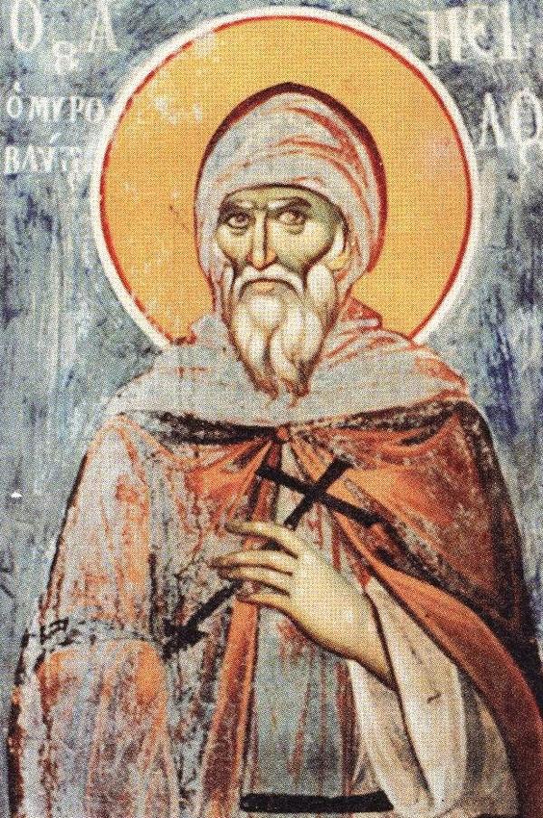 Agios Neilos o Myrovlitis