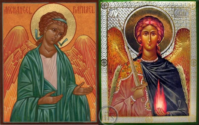 ARCHANGELS RAPHAEL AND URIEL