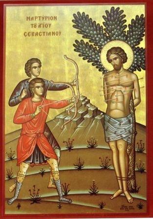 Помогите найти икону Севастиана Медиоланского 1218_sebastianos
