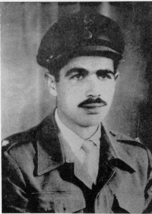 Ο ήρωας Γρηγόρης Πιερή Αυξεντίου (+ 3 Μαρτίου 1957), ο σταυραετός του Μαχαιρά