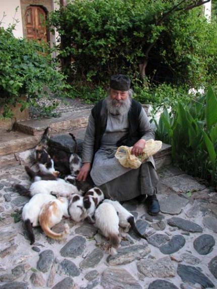 Ηγούμενος Ι.Μ.Δοχειαρίου Αρχιμ.κ.κ.Γρηγόριος