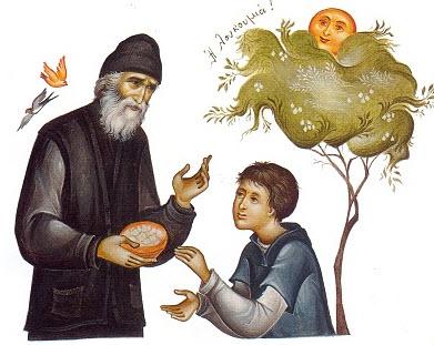 Αποτέλεσμα εικόνας για Ό π. Παΐσιος ως δάσκαλος καί παιδαγωγός