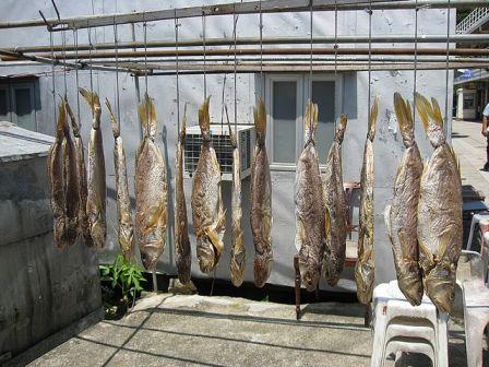 Συντήρηση των ψαριών με αλάτισμα και ξήρανση