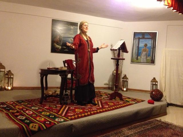 Η κ. Σάσα Βούλγαρη, Ψυχοπαιδαγωγός και Αφήγητρια παραμυθιών, αφηγείται Αλέξανδρο Παπαδιαμάντη