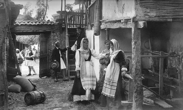 Ακράτα, αυλές, 1903