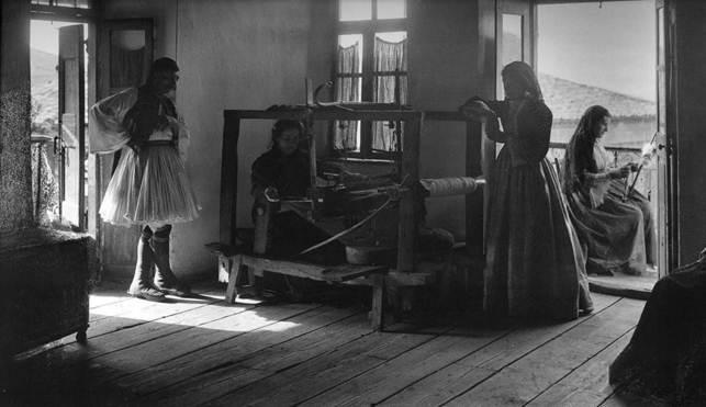 Ανδρίτσαινα, εσωτερικό σπιτιού, 1903