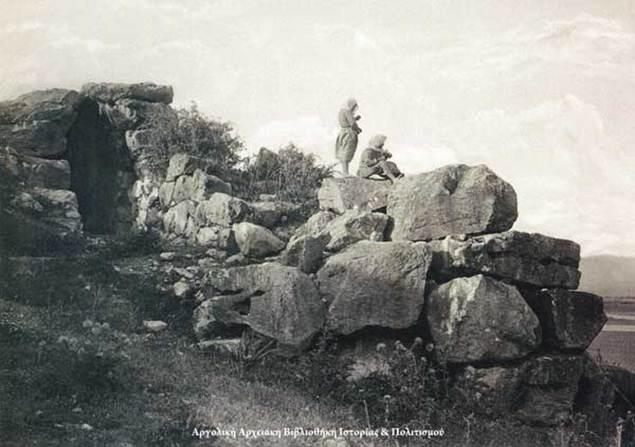 Τίρυνθα, 1903