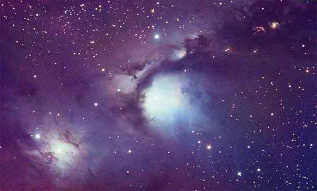 Nέφη σκόνης στον Ωρίωνα (φωτ. NASA)