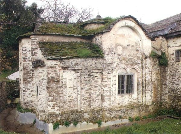 Ο ναός του Αγίου Προκοπίου. Άποψη από βορειοανατολικάhttp://www.pemptousia.gr