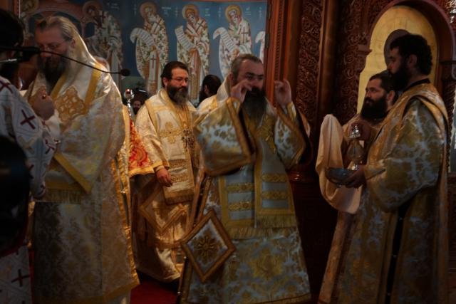 Οι Επίσκοποι Λήδρας κ. Επιφάνιος και Αμαθούντος κ. Νικόλαος