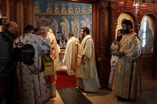 Ο Επίσκοπος Μεσαορίας κ. Γρηγόριος